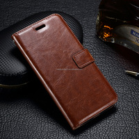 Pull-up/Crazy-horse flip wallet case cover leather for moto g 3rd gen