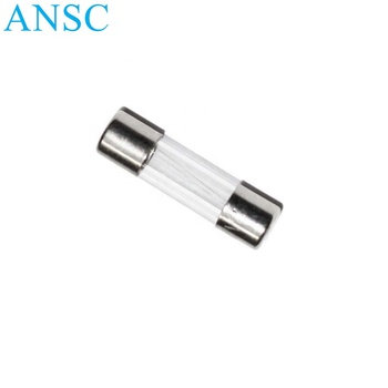 Cheap hot selling glass tube fuse 0.5A 250v glass fuse 5x20