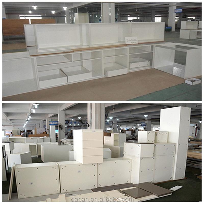 Mdf Kitchen Cabinets Price: Jisheng White High Gloss Kitchen Counter Mdf Cabinet Model