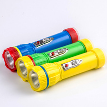 led flashlight led torch plastic torch light