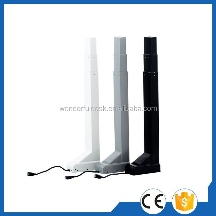 Designer anti-slip height adjustable lifting column