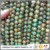 ABT0681 Newest green brown Tibetan agate stone beads,eye design Tibetan Dzi beads in bulk