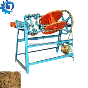 Manual straw grass reed rope twisting machine
