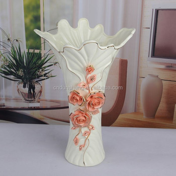 Europe Luxury Ceramic Vases For Wedding Centerpieces With Flower