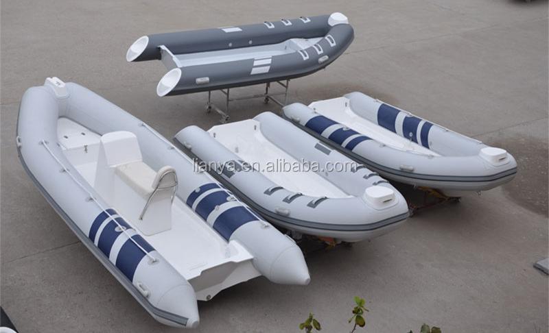 Liya 5 m costela barco inflável rígido do barco barco inflável do exército