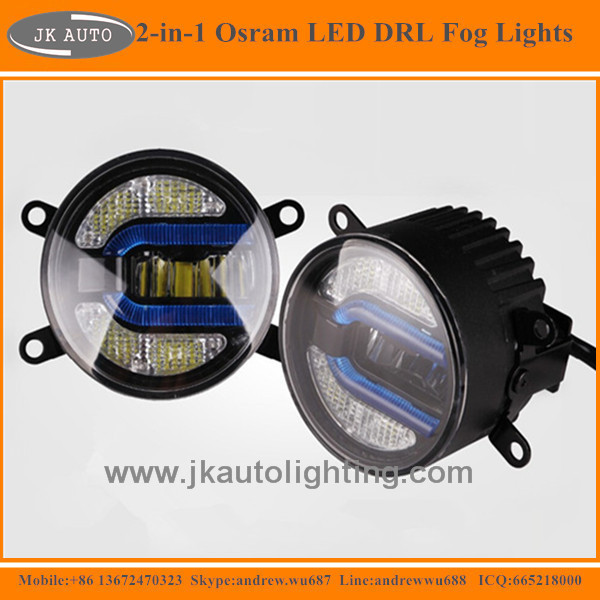 High Quality LED Fog Lamp for Dacia Duster Hot Selling LED Fog Light for Dacia Duster 2010 LED Foglights