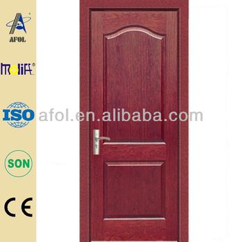 Afol zd18 moderno dise o de la puerta de madera para for Modelos de puertas de madera para interiores