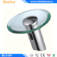 Bathroom Public Glass Shut Off Faucet Hand Wash Infrared Motion Faucet
