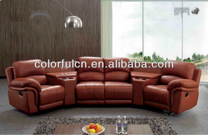 Yellow Leather Recliner Sofa For Home,Solan,Hotel 4 Seats Sofa/recliner  Theater Chair/ Recline Sectional Sofa Set Ls311a - Buy Yellow Leather  Recliner ...
