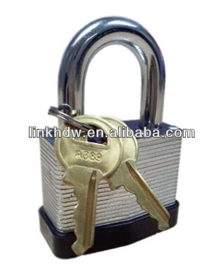 40mm Double Locking Bumper Laminated Padlock