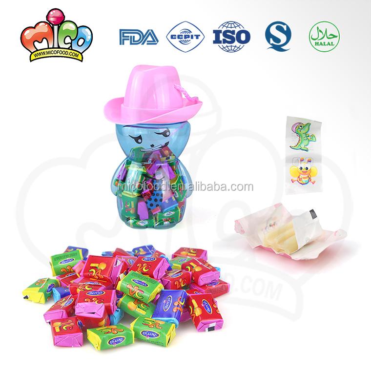 Tattoo Bubble Gum In Emoji Funny Face Jar - Buy Magic Bubble Gum,Donald  Bubble Gum,Double Bubble Gum Product on Alibaba com