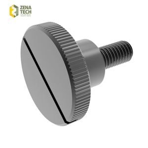 low carbon steel 1018 thumb screws in China (with ISO and RoHS certification)