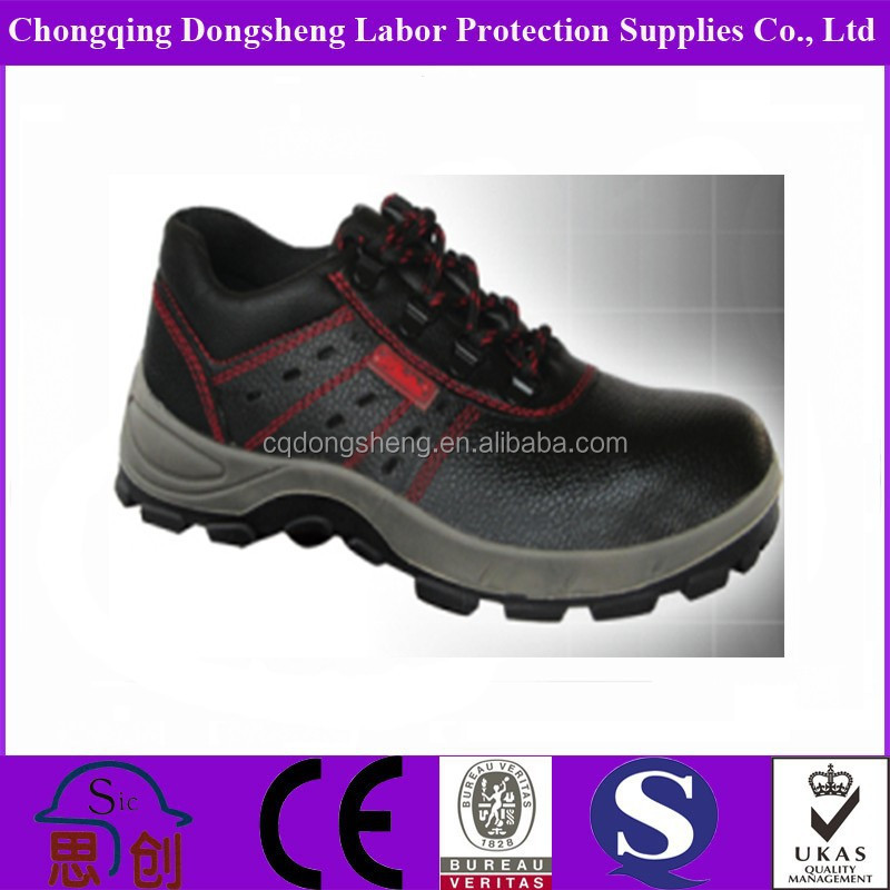 Split Barton Leather Comfortable Chef Safety Shoes