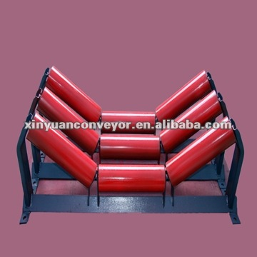 Steel idler rollers for conveyor belt