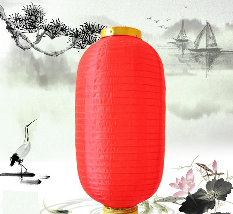 Outdoor Waterproof Chinese Cloth Lantern for festival decoration