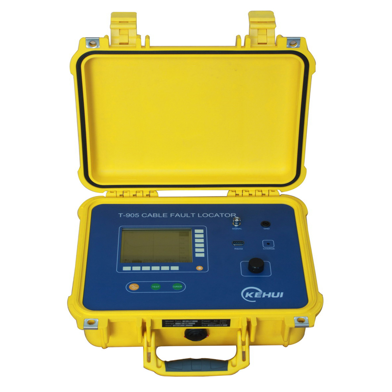 TDR Time Domain Reflectometry Cable Fault Locator