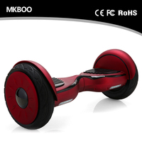 Chic Hoverboard Fat Tire 2 Wheel Hoverboard 10 Inch Electric Scooter Motorcycles With Bluetooth And Speaker