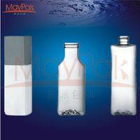 Good for sale 20ml PET bottle square shape cosmetic PET bottle