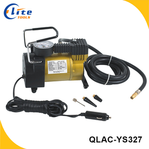Mini portable tire air compressor inflator 12V car air compressor