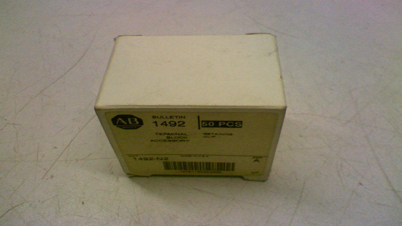 Allen Bradley 1492-N2 *Pack Of 50* Series A Terminal Block Accessory 1492-N2 *Pack Of 50* Series A
