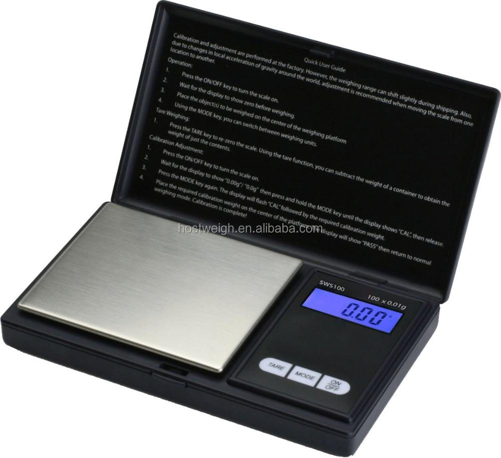 300g x 0.01g Mini Electronic Digital Scale Balance Pocket Gram LCD Display