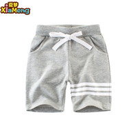 2020 Top selling fashion summer pure cotton kids shorts for boys