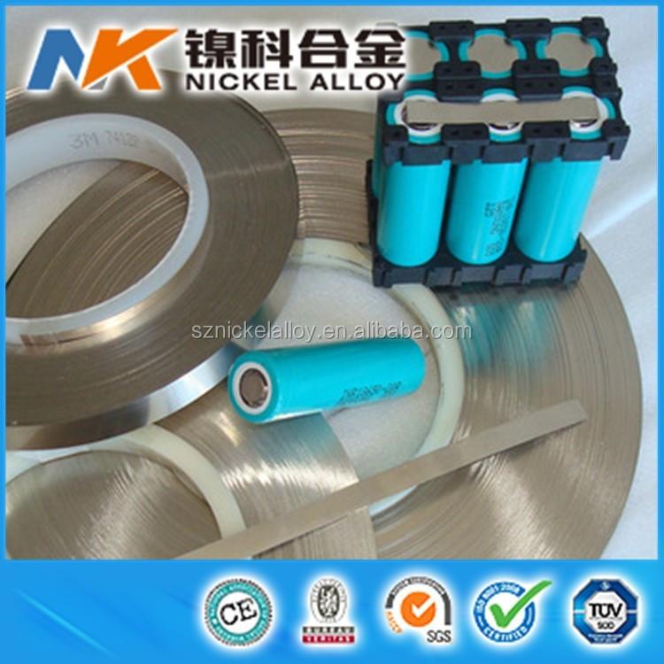 Pure Nickel Ni200 Ni201 N4 N6 Nickel Strip For Battery