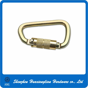 OEM factory jewelry hiking stainless steel carabiner hooks