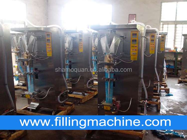 Factory Price Sachet Water Packaging Machine,Automatic Liquid Water Pouch Packing Machine