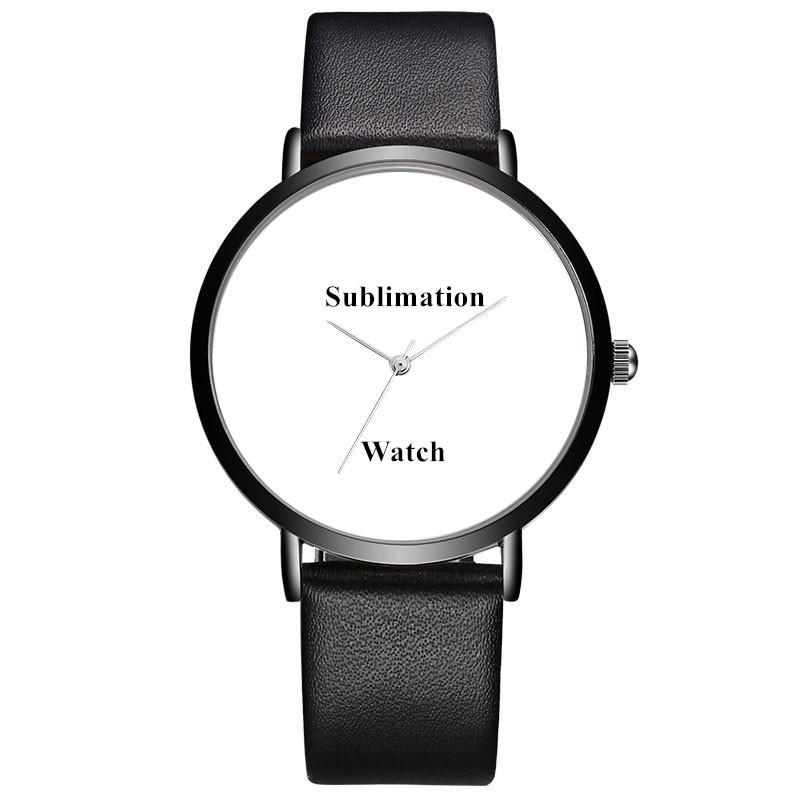 Custom OEM Watch Design Brand Your Own Watches Customized Personalized Sublimation Wrist Watch, Black;white;gray;blue;red