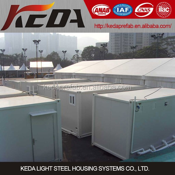 Modular Prefabricated Container Ablution Lavatory Toilet Bathroom