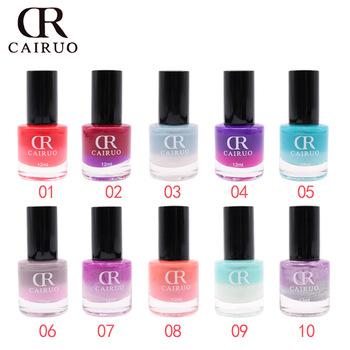 2018 Hot Fashion Water Based Temperature Sunlight 26 Colour Changing Nail Polish L Off Varnish