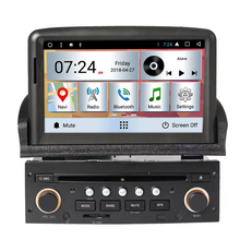 Prezzo di fabbrica!! <span class=keywords><strong>Hot</strong></span> <span class=keywords><strong>car</strong></span> <span class=keywords><strong>audio</strong></span> per Peugeot 307 LETTORE DVD Dell'automobile del Android 8.0 di GPS Per Auto tracker con Bluetooth Playstore