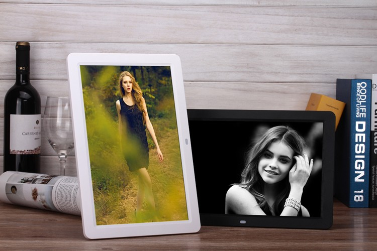 7 to 32 inch cheapest hd wifi battery operated digital photo frame motion sensor digital picture
