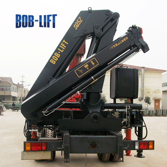 The Hydraulic Crane Is Used To Lift The 1400 : Used hydraulic electric truck mounted crane for sale buy