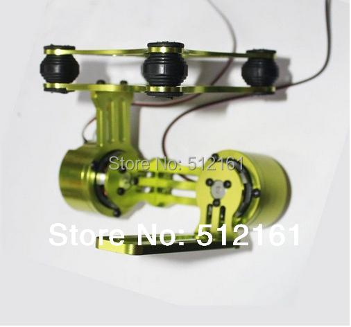 CNC Alloy Brushless Camera Gimbal & Motors For Gopro 2 3 DJI Phantom PTZ