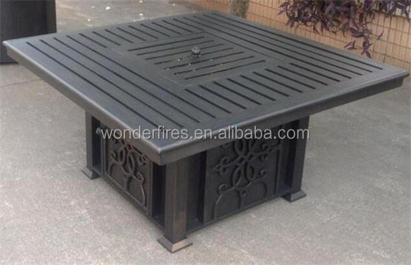 square outdoor gas garten feuerstelle feuerstelle produkt. Black Bedroom Furniture Sets. Home Design Ideas
