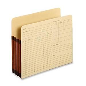 "22 pt. Letter Size Project Pocket (Set of 10) [Set of 10] Size: 9.5"" H x 11.75"" W x 0.5"" D"