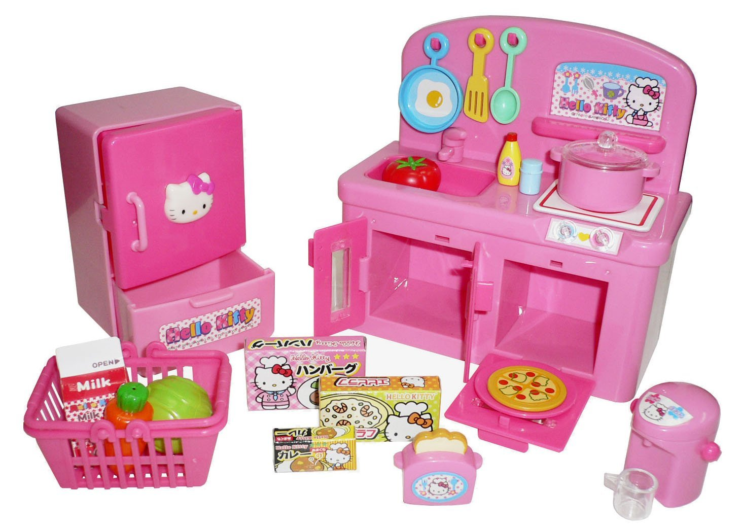 Buy Hello Kitty Kitchen Play Set Miniature Toy Preschool Girl Role