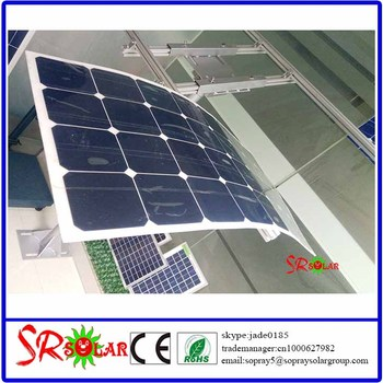 100 Watt 200 Watt Semi Sunpower Flexible Thin Film Solar