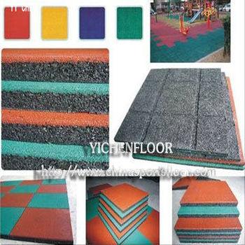 Gym Residential Rubber Floor Balcony Waterproof Outdoor