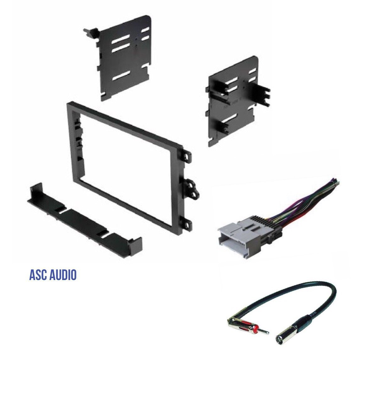 04-07 Verona Other 05-08 Reno ASC Double Din Car Stereo Install Dash Kit and Wire Harness for 04-06 Chevrolet Aveo; Daewoo: 99-02 Lanos 99-02 Nubira; Suzuki: 04-08 Forenza 99-02 Leganza