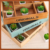 Household Creative Succulent Plants Flowerpot Cosmetic Storage Box Custom Logo Wooden Make-Up Box