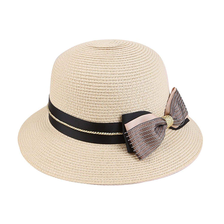 69114e6aeb2 Get Quotations · Hats for Women Summer travel sun bonnet Visor cap   Korean  version of the