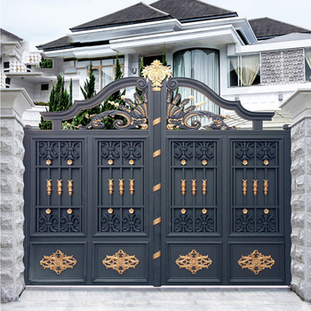Latest main gate designs sliding iron main gate design for - Sliding main gate design for home ...