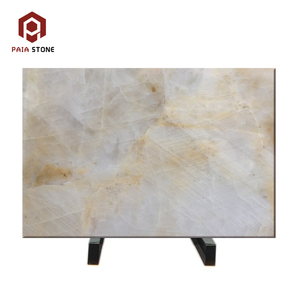 Own Quarry newly design Lemon onyx marble slab for floor tile and wall cladding light transmit