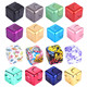 Fidget Cube Spinner For Autism And ADHD Rotation Time Long Anti Stress Finger Toys