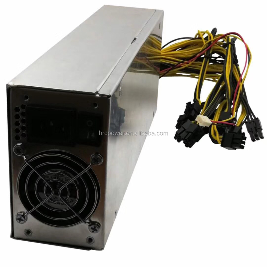 China Power <strong>Supply</strong> Manufacturer Wholesale 1600w 1800w 2000w 2400w Mining Power <strong>Supply</strong> 12v for ASIC Miner GPU Miner