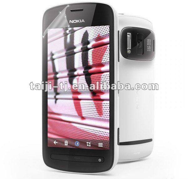 washable&reusable Anti glare screen protector for Nokia 808