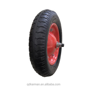 High quality large 3.25-8 inflatable pneumatic wheels
